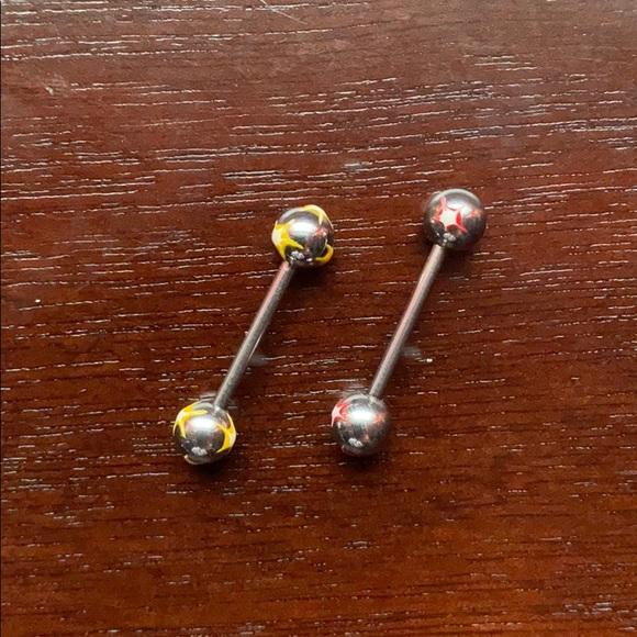 💚SALE💚Barbell piercings